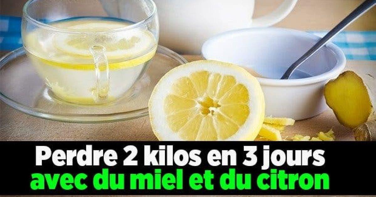 Perdre 2 kilos en 3 jours avec du miel et du citron11