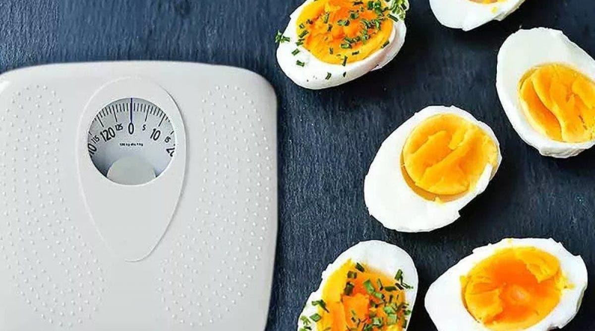 le régime express aux oeufs, un moyen simple de perdre 11 Kg en 2 semaines