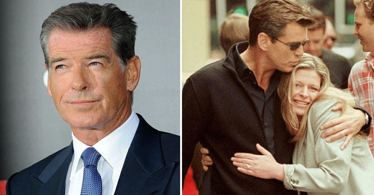 Pierce Brosnan perd sa femme et sa fille a cause du meme cancer 1