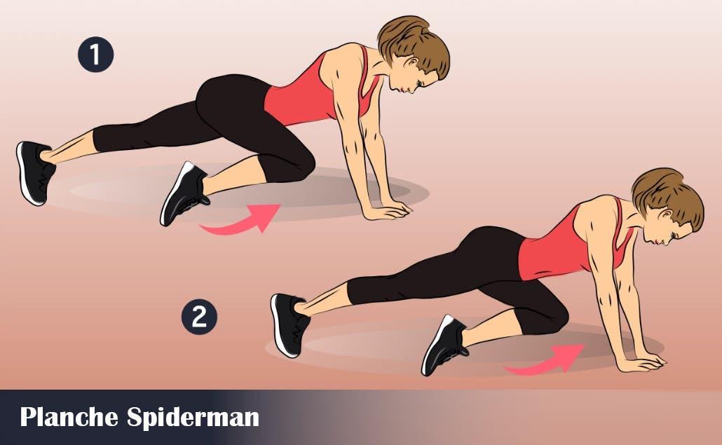 Planche Spiderman