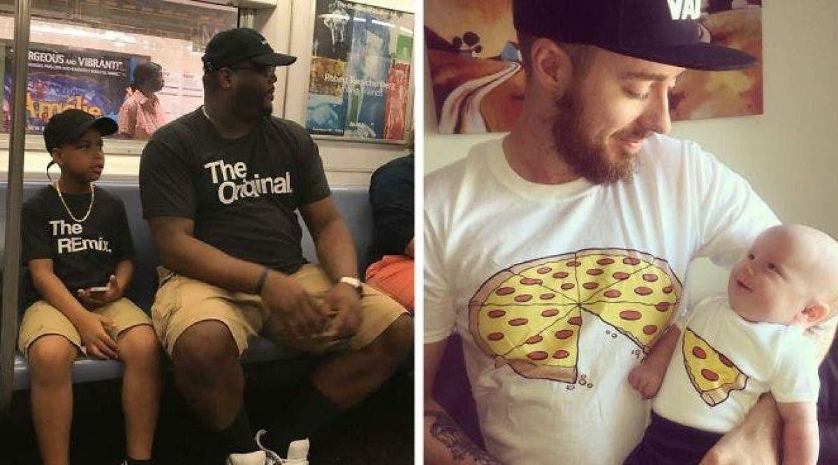 Plus de 10 paires de t-shirts ingénieux. Vous allez les adorer !
