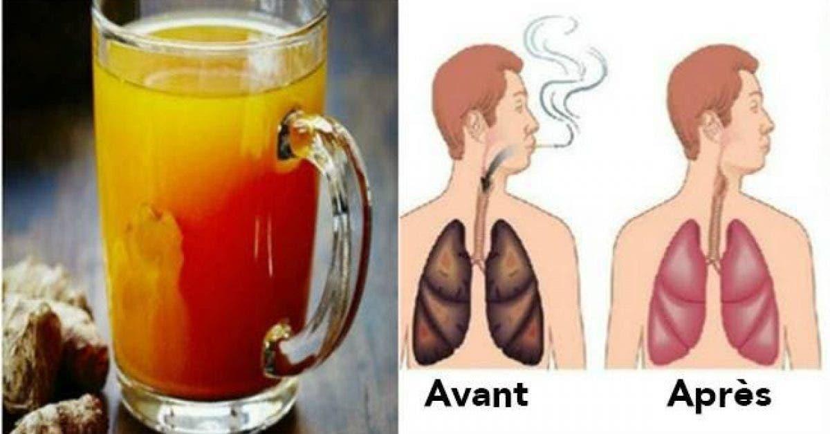 Pour les fumeurs et les anciens fumeurs aussi – Une boisson pour nettoyer les poumons