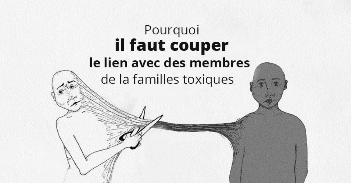 Pourquoi couper des liens avec des membres de la famille toxiques est un acte sain