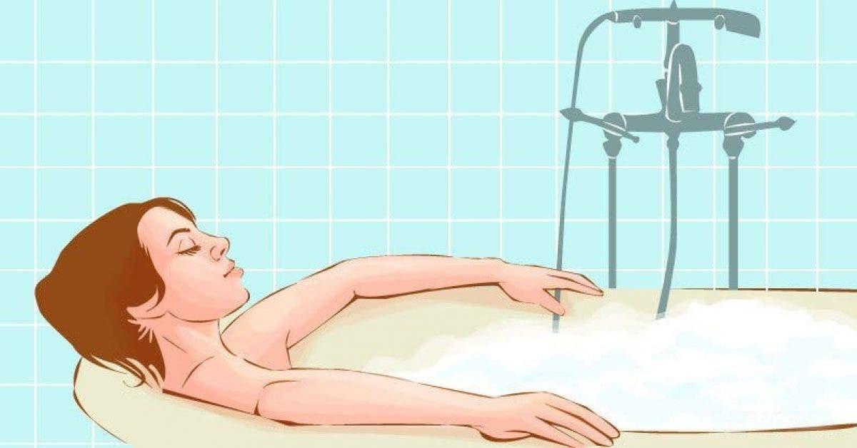 Prendre un bain chaud brûlerait autant de calories que 30 minutes de marche