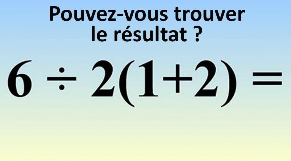 Presque personne n'arrive à résoudre cette équation simple