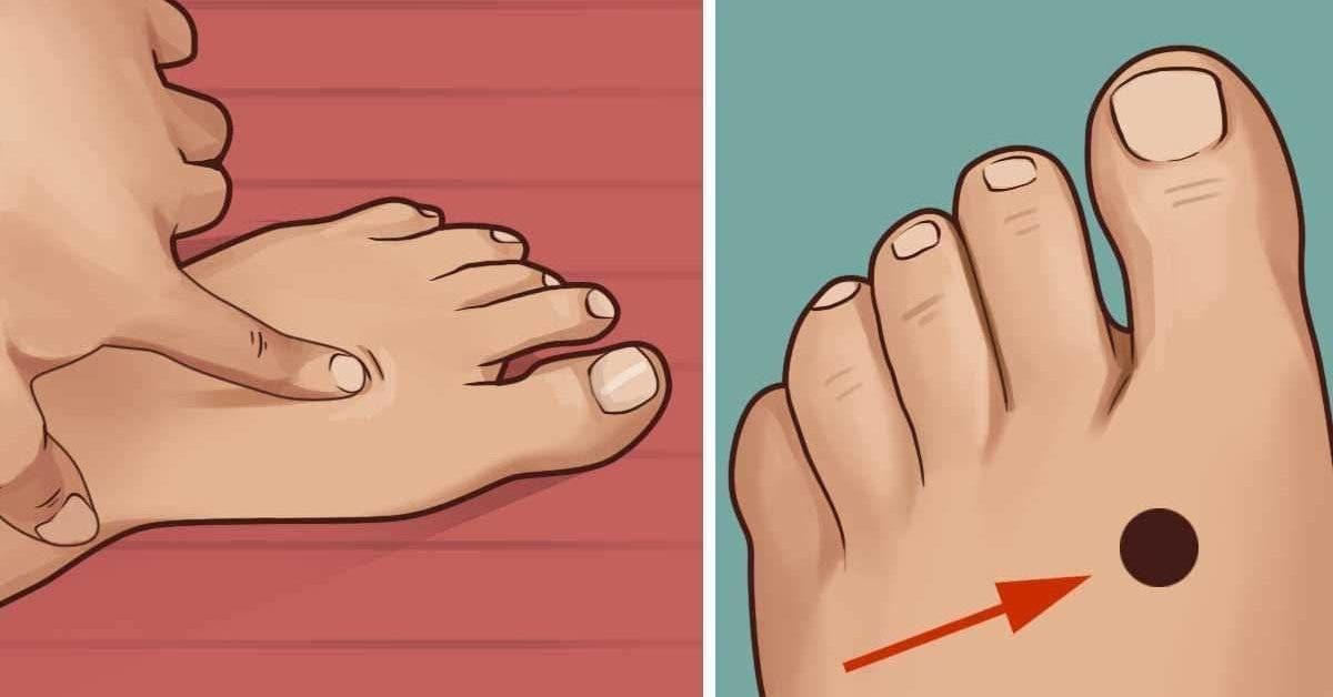 Pressez ce point sur votre pieds avant daller au lit et regardez ce qui arrive a votre corps 1