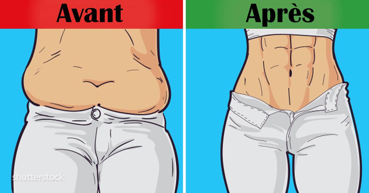 Programme d'entrainement de 6 semaines pour éliminer la graisse facilement à la maison