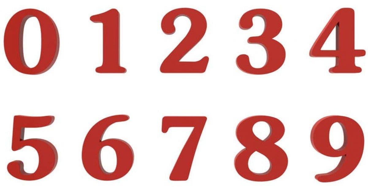Que dit votre chiffre prefere de votre personnalite 1