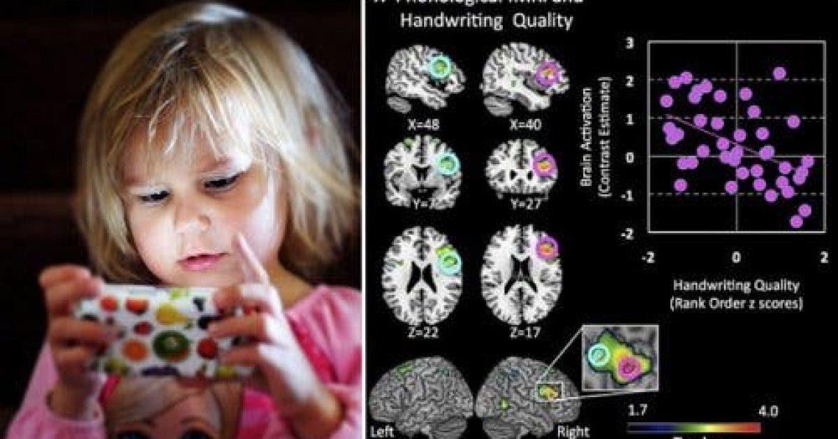 Quel est limpact du temps passe devant un ecran sur le cerveau dun enfant 1