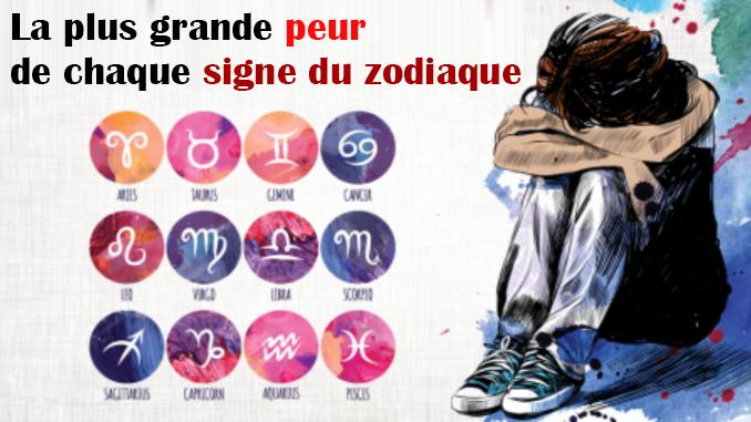 Quelle est votre plus grande peur selon votre signe du zodiaque