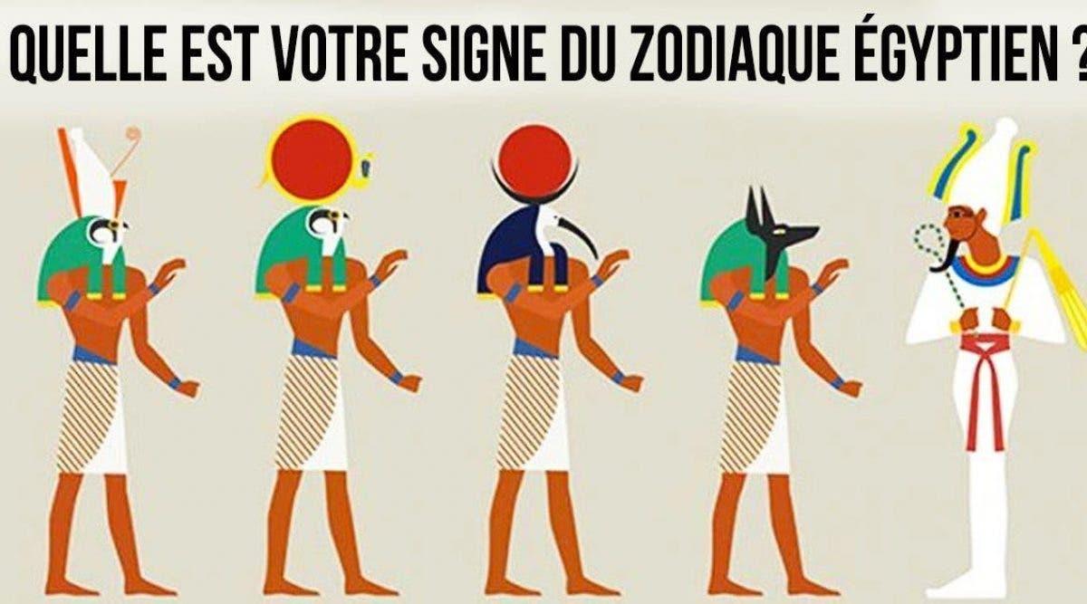 Le zodiaque égyptien révèle votre vraie personnalité