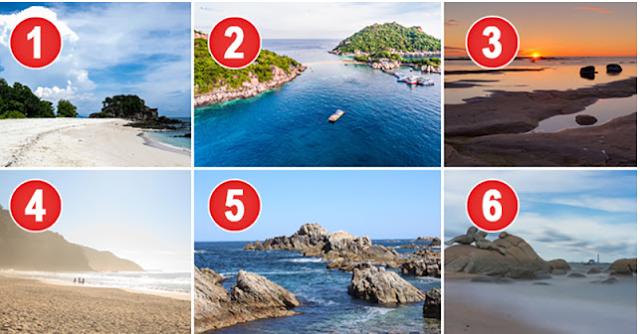 Quelle plage choisiriez-vous pour vos vacances