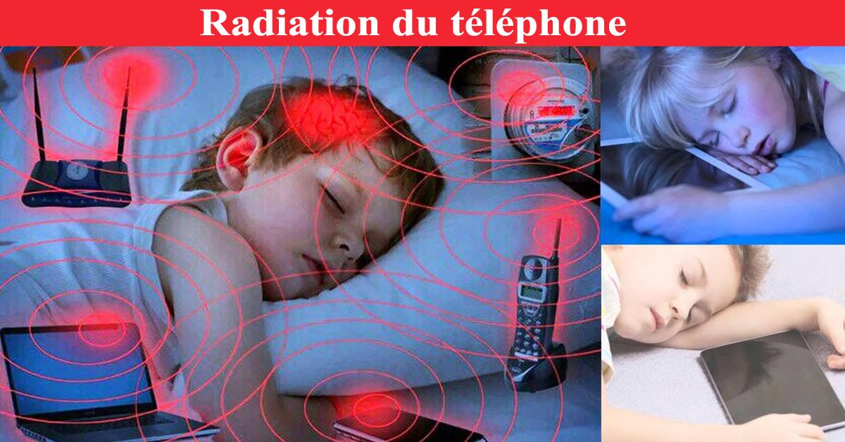 Radiation du téléphone