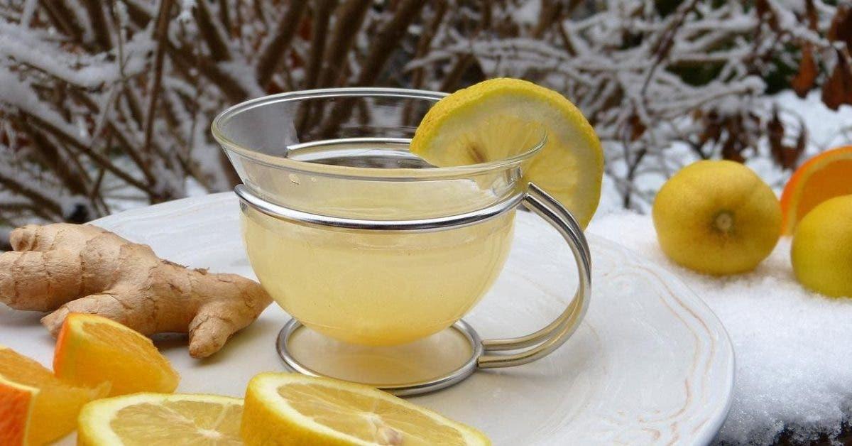 une boisson ayurvédique au citron qui aide à dégonfler le ventre et perdre du poids