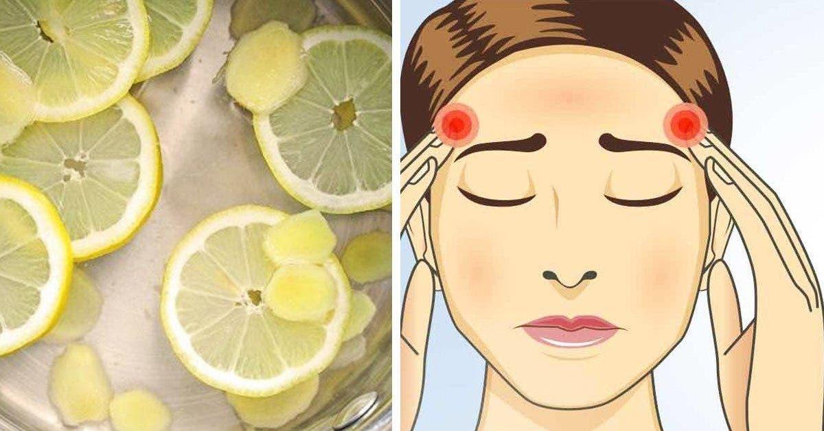 Un vieux remède au citron pour arrêter la migraine instantanément