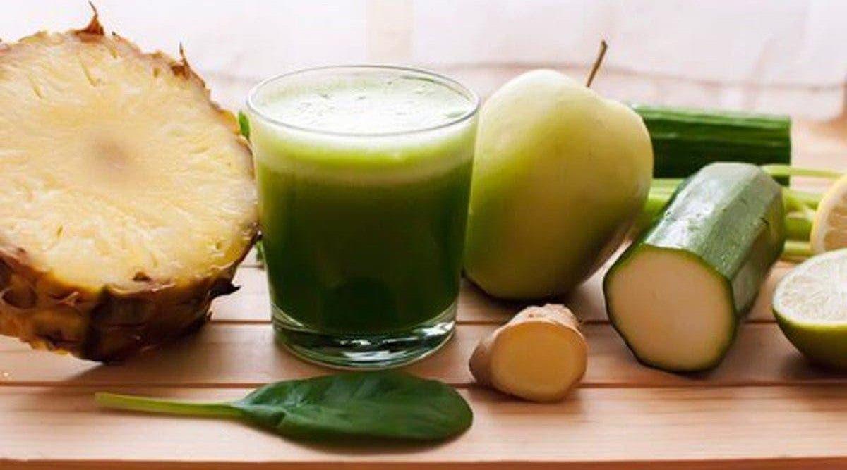 Recette de boisson minceur au fruits et légumes pour éliminer
