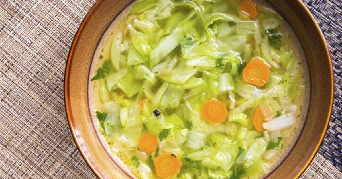 la soupe brûleuse de graisses qui permet de perdre 4 Kg en une semaine