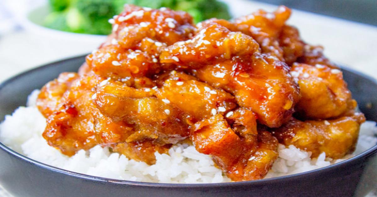 Recette santé : la célèbre recette chinoise du poulet du général Tso facile et délicieuse