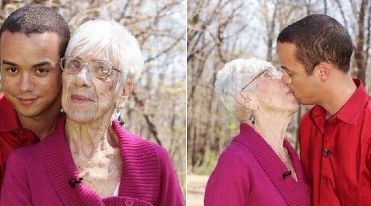 Regardez comment cet homme de 31 ans s'est marié avec cette femme de 91 ans