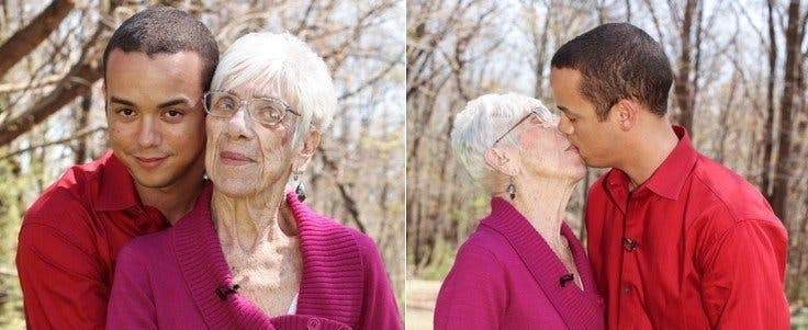 Man Dating 91 Year Old Woman