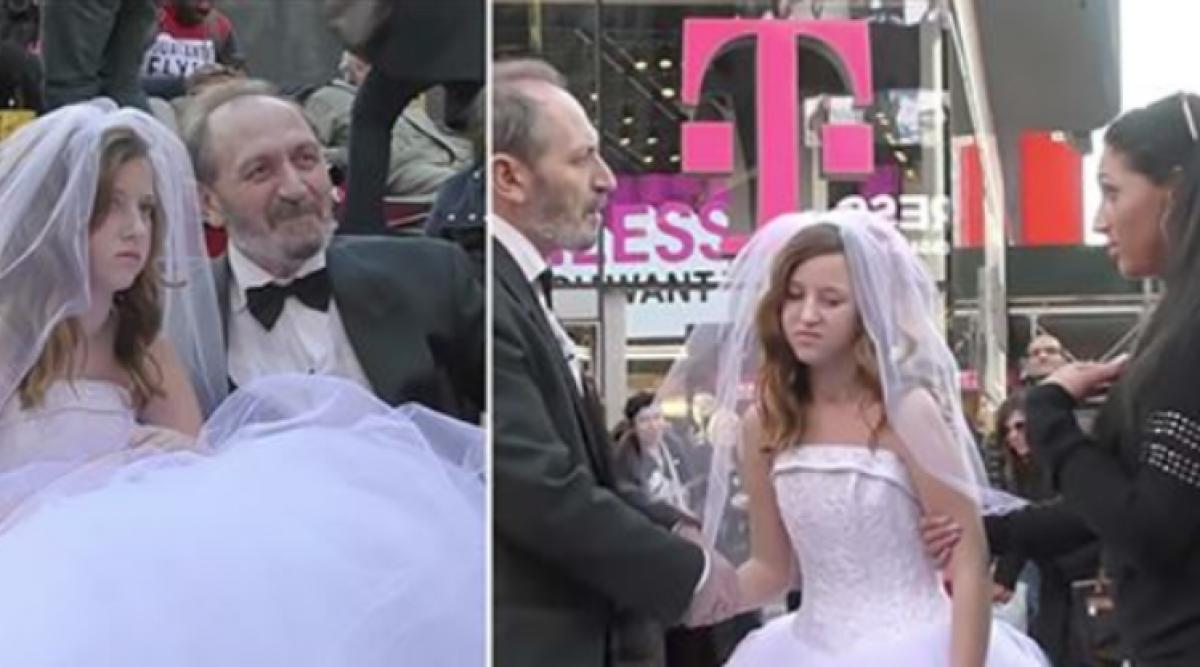 Regardez comment les gens ont réagi à leur mariage