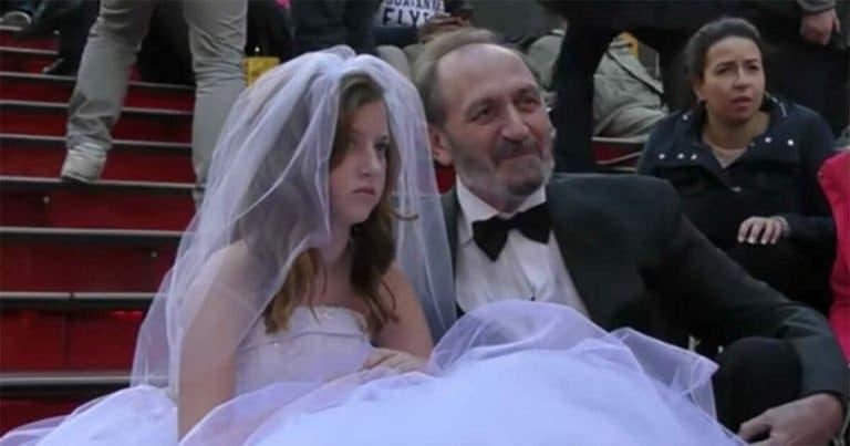 Ce qui arrive lorsqu'un homme de 65 ans se marie avec une petite fille de 12 ans