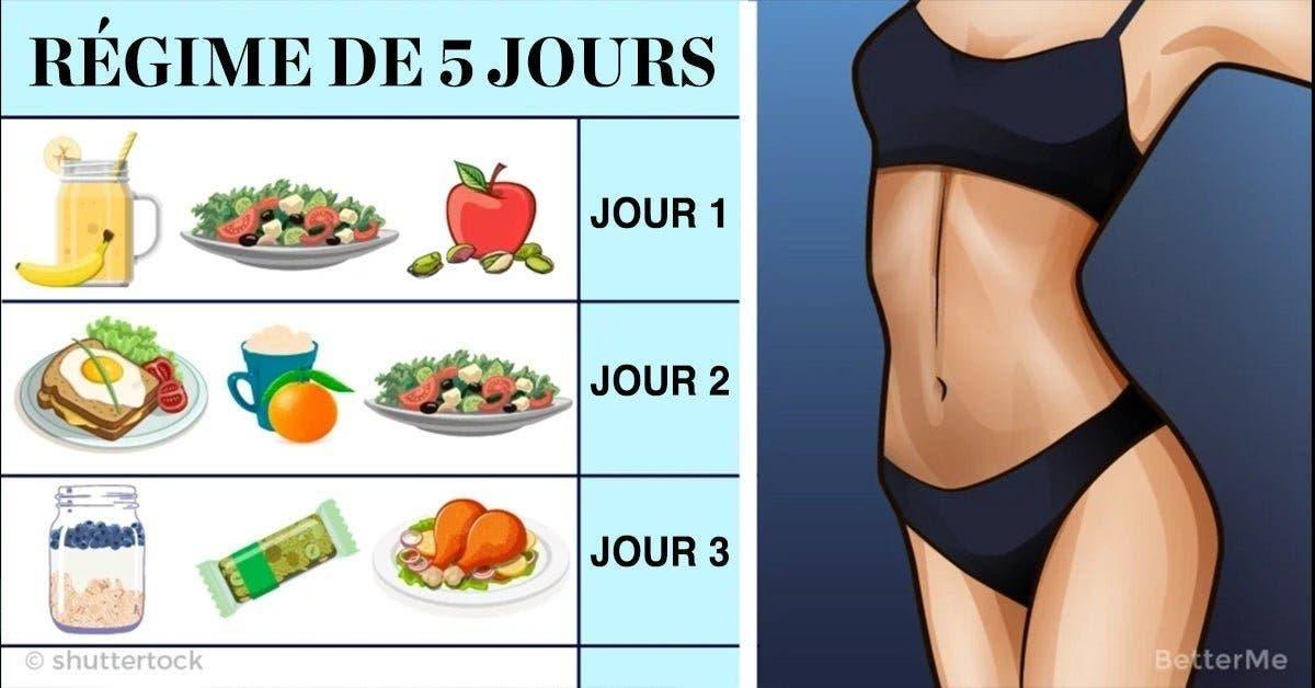 Le régime du Docteur Lebar, un excellent moyen de perdre 3 Kg en 5 jours