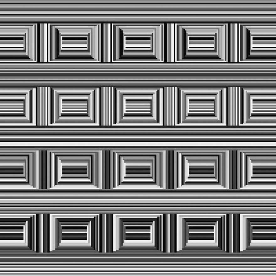 Seules les personnes avec une très bonne vue peuvent voir les cercles sur cette image