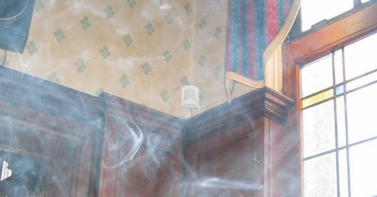 Smoke by a window in a pub 1