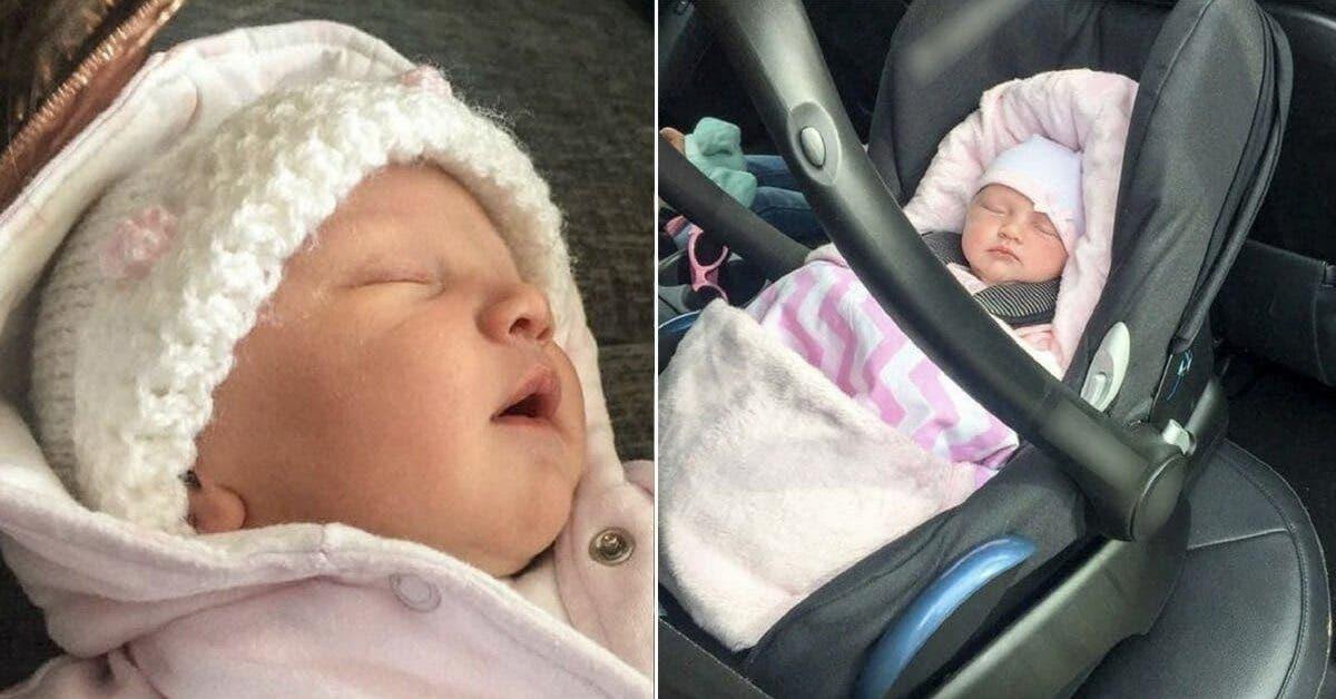 Son bébé à cessé de respirer après 2 heures sur un siège auto
