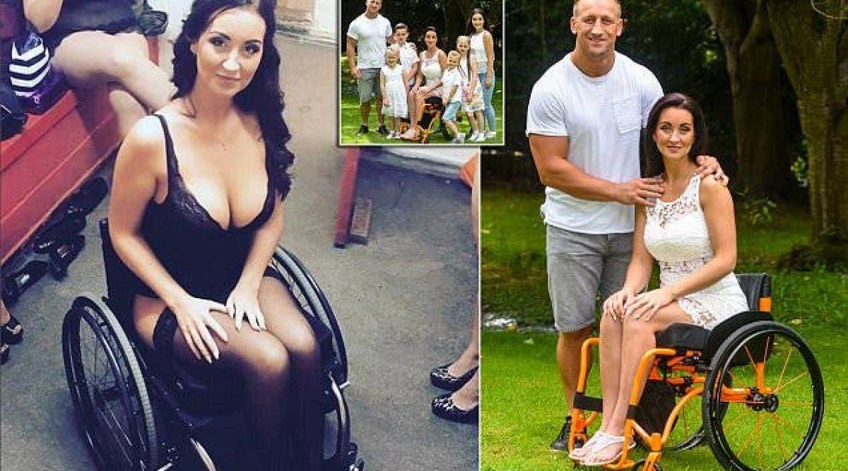 Son mari la quitte après sa paralysie et elle prend sa revanche