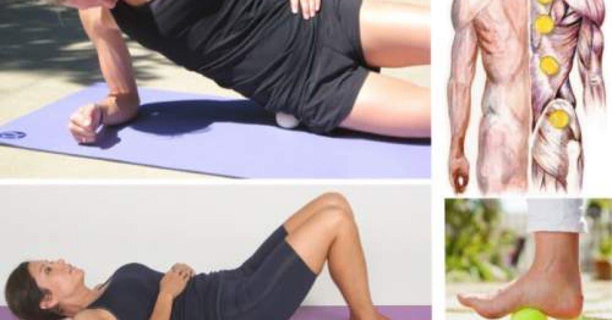 Soulagez rapidement votre mal de dos ou sciatique avec une balle de tennis 1
