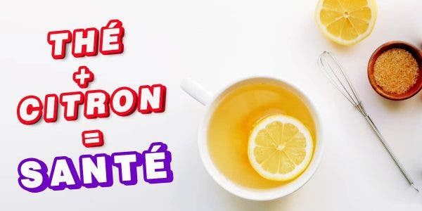 thé citron