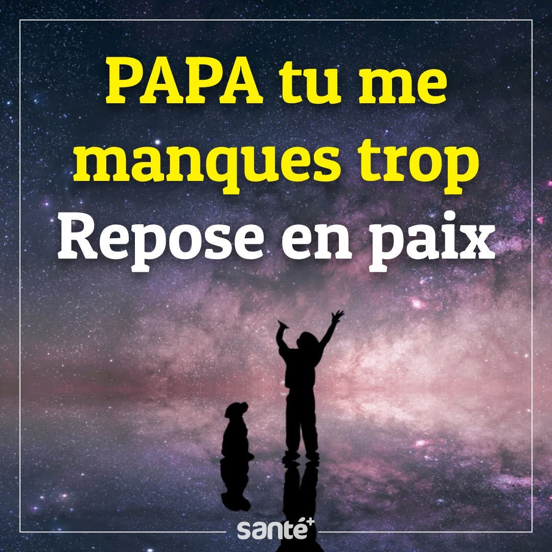 Tu me manques Papa