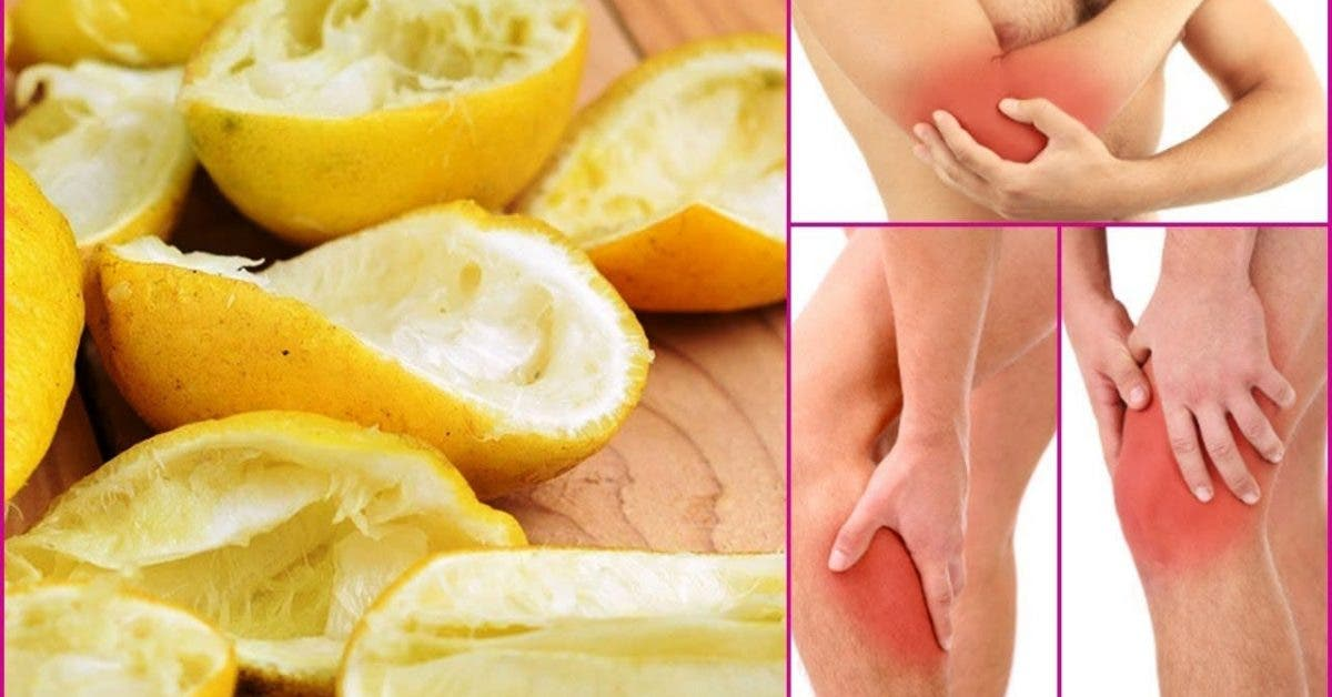 Un ancien remède aux zestes de citrons pour soulager vos douleurs articulaires