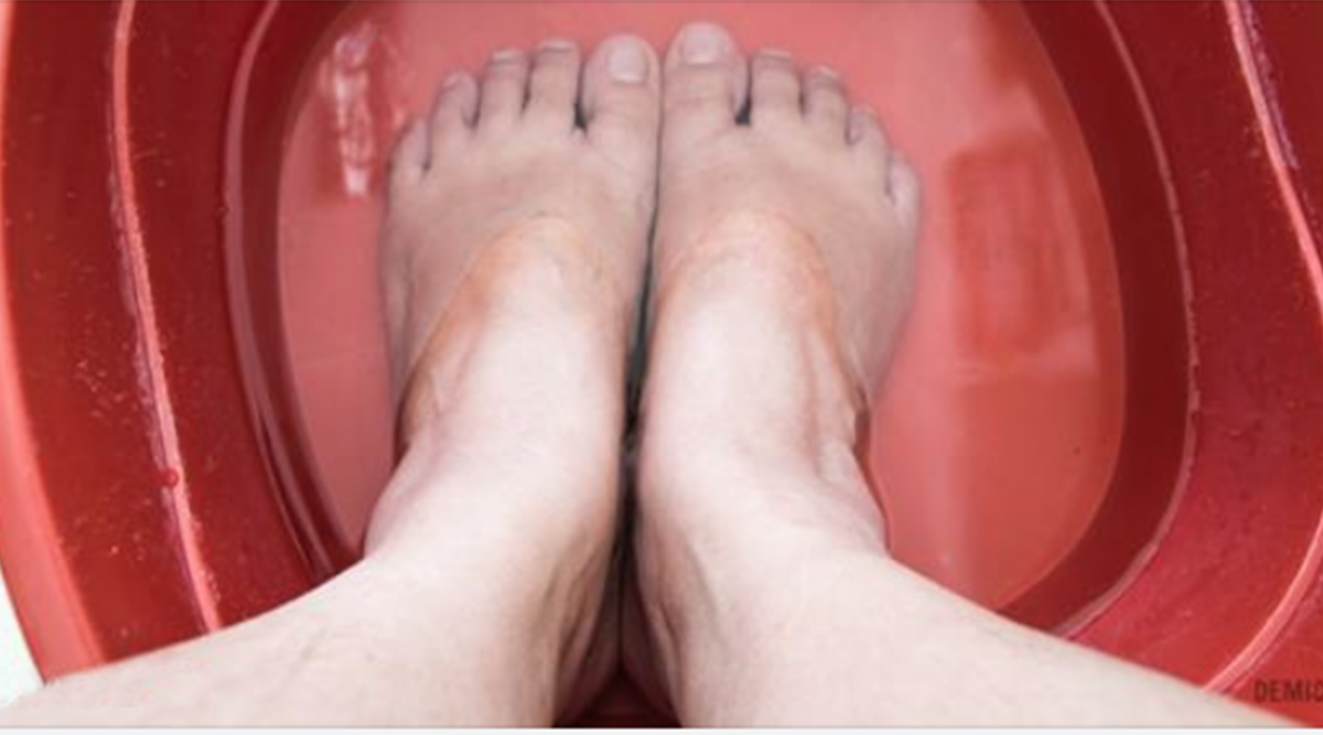 Un bain de pieds puissant pour éliminer les toxines de votre corps