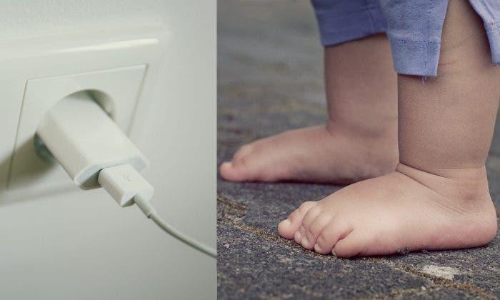 Un bébé meurt électrocuté après avoir joué avec un chargeur de téléphone