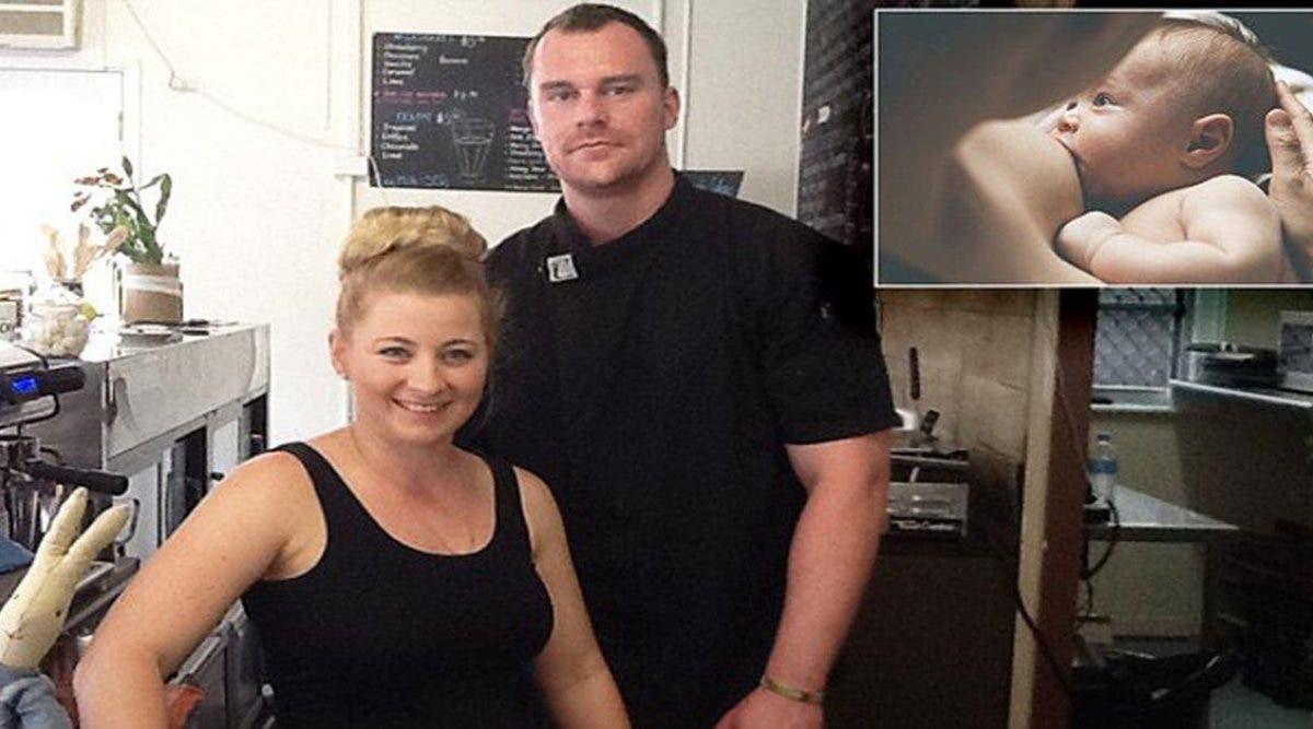 Un client a été viré d'un café après avoir signalé une femme qui allaite