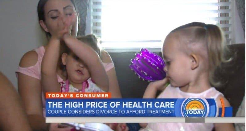 Un couple marié et heureux n'a pas eu d'autre choix que de divorcer pour payer les frais de santé de leur fille