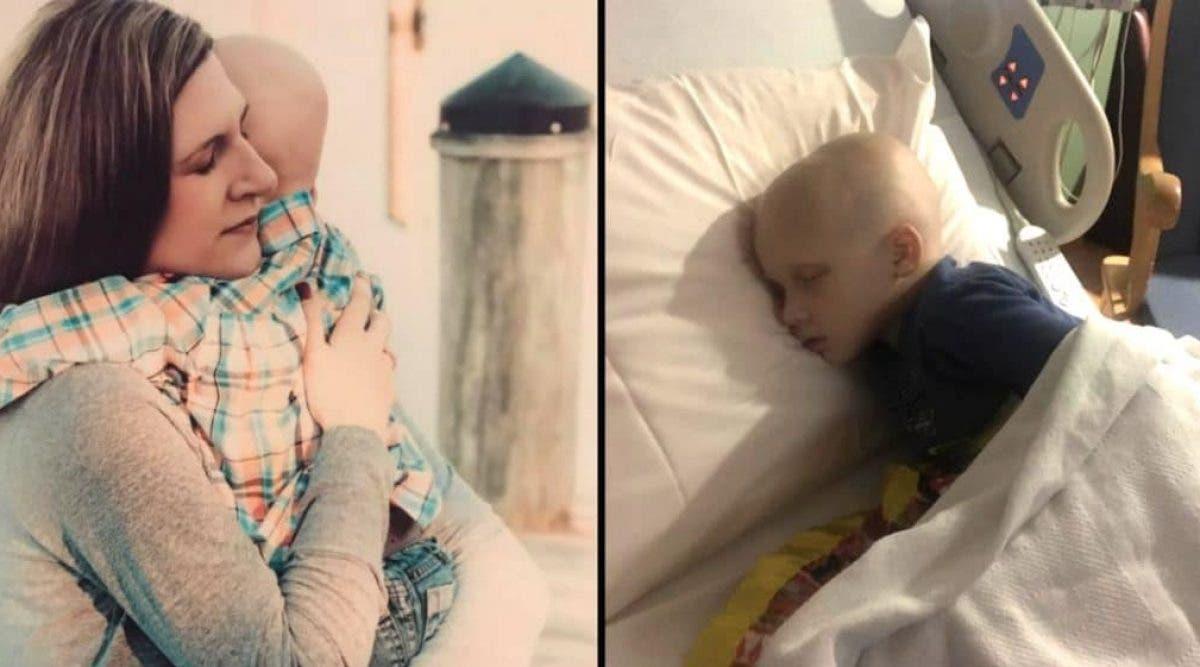 Un enfant de 4 ans sort du coma pour dire ces 4 mots à sa mère avant de mourir