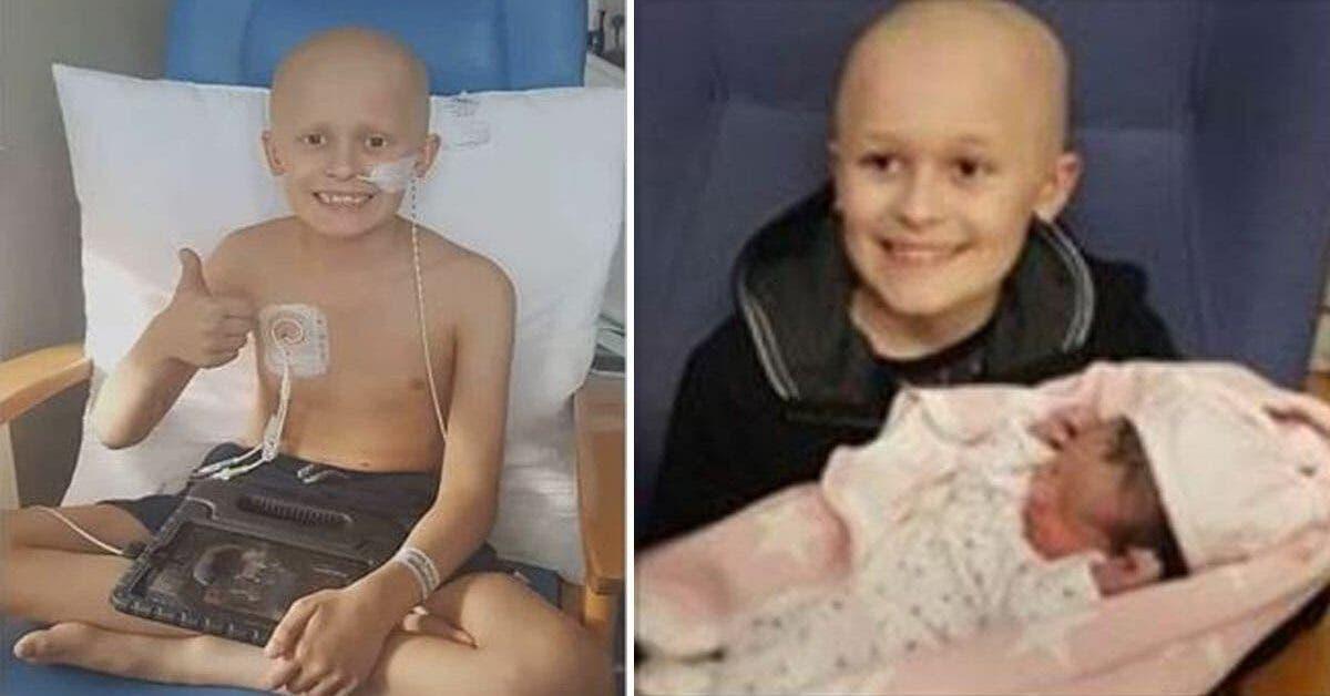 Un enfant de 9 ans atteint d'un cancer rencontre sa petite sœur avant de mourir
