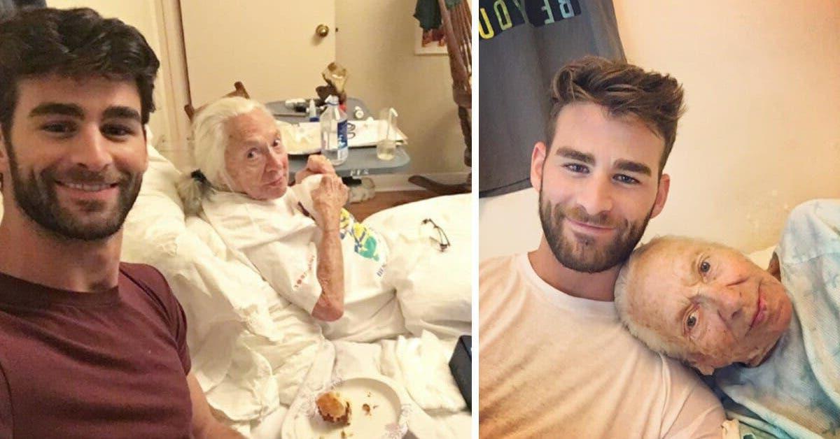 Un homme de 31 ans invite sa voisine mourante de 89 ans à emménager chez lui