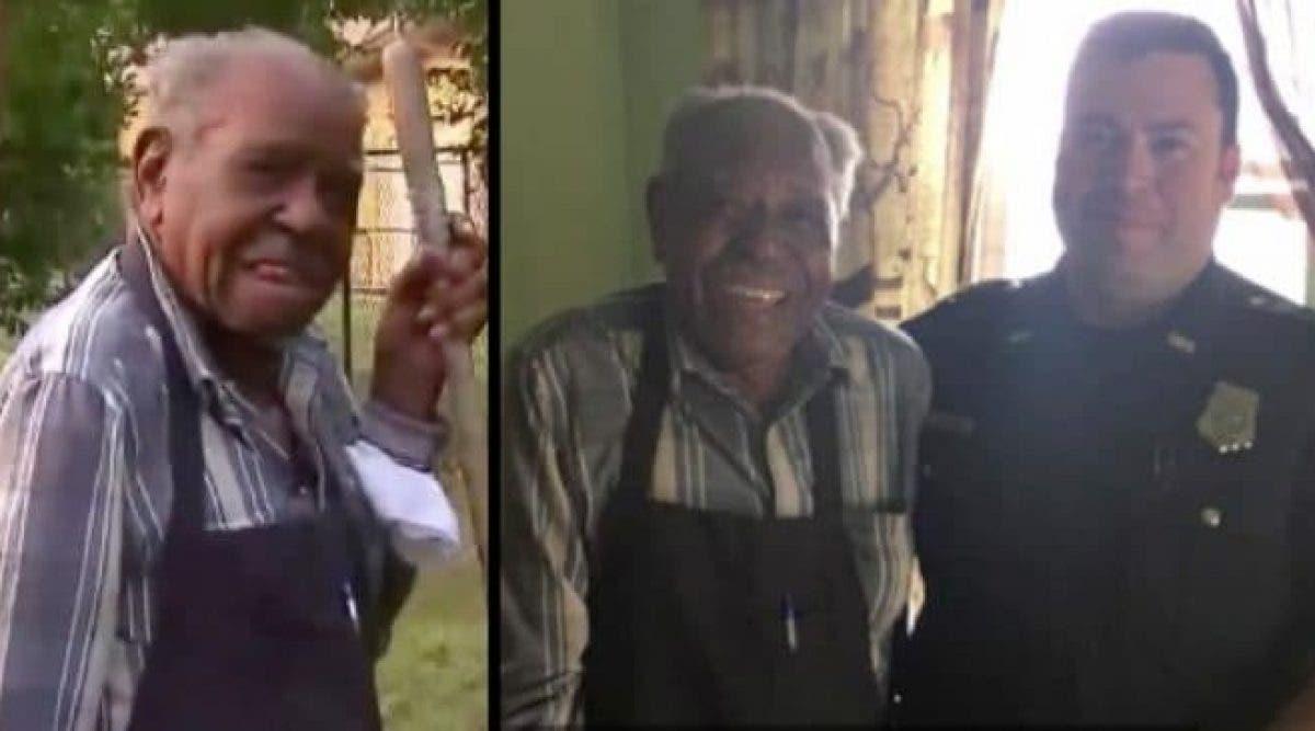 Un homme de 95 ans appelle la police avec une demande étrange