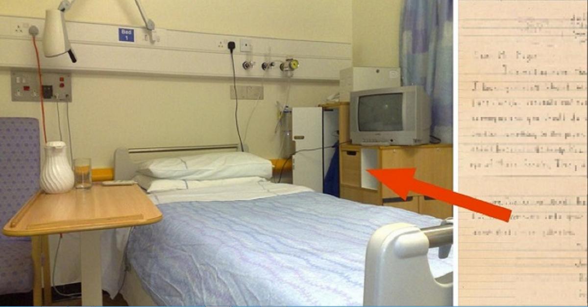 Un homme décédé dans une maison de retraite, laisse quelque chose qui met les infirmières en larmes