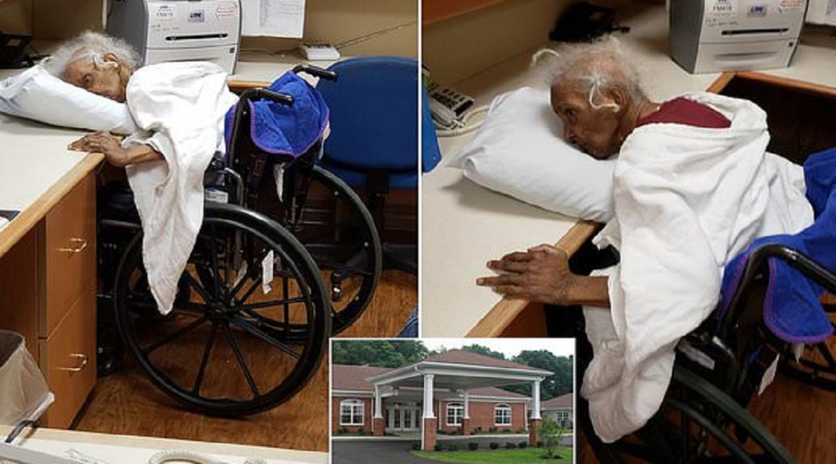 Un homme est choqué de voir comment sa mère est traité dans une maison de retraite