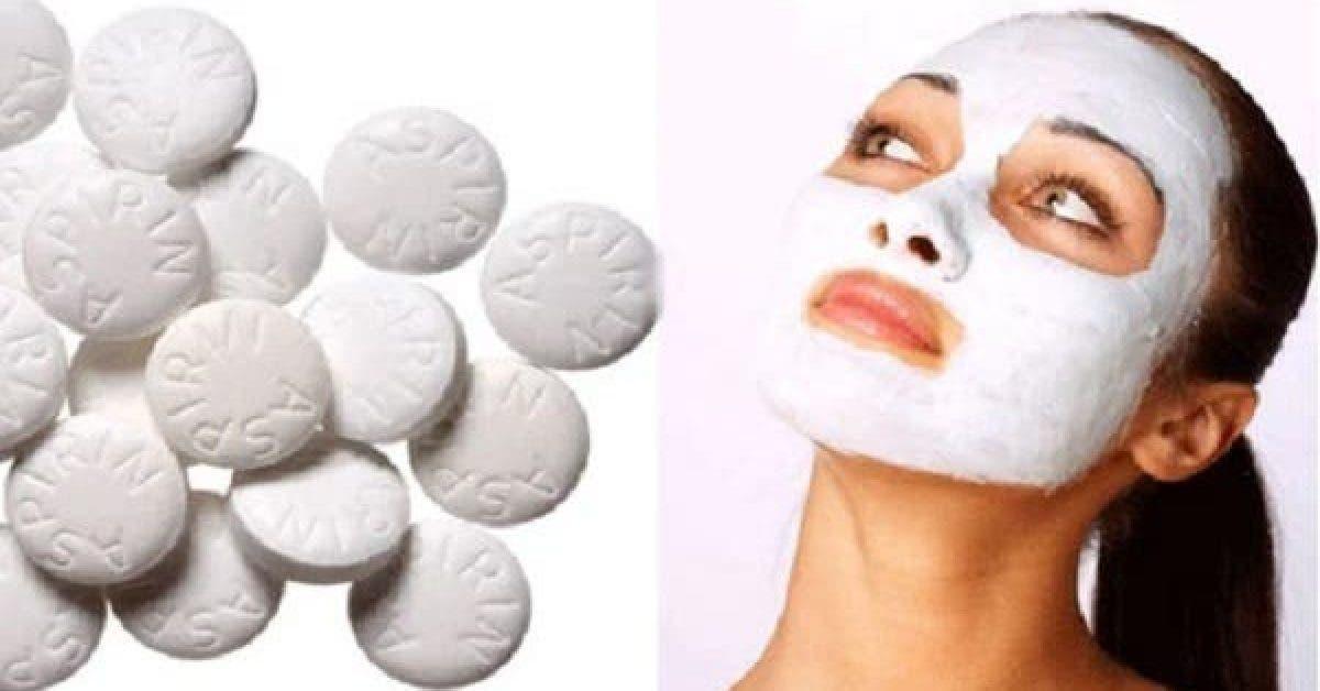 Un incroyable masque pour le visage a base daspirine 1