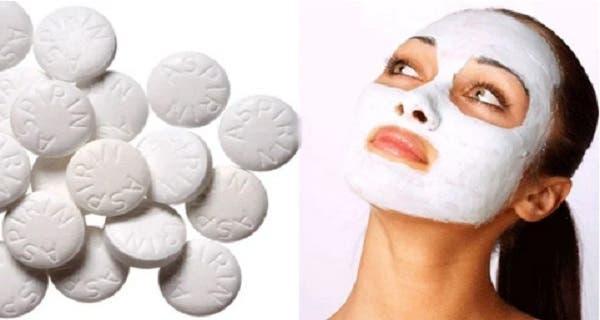 un incroyable masque pour le visage base d aspirine. Black Bedroom Furniture Sets. Home Design Ideas