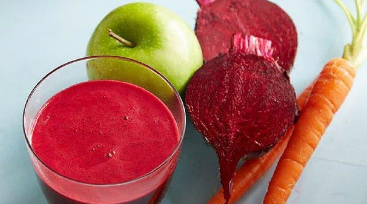 Un jus de carotte et betterave pour améliorer l'aspect de la peau, améliorer la mémoire et prévenir de nombreuses maladies