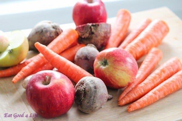Un jus de carotte et betterave pour améliorer l'aspect de la peau