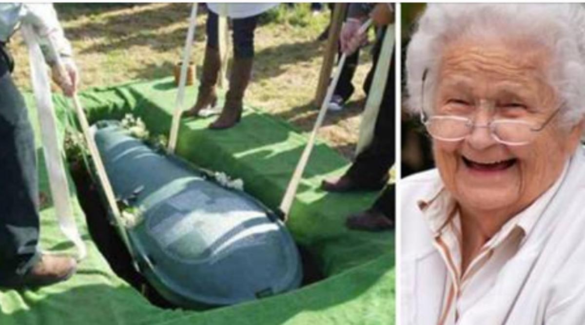 Un mari avare veut être enterré avec toute sa fortune
